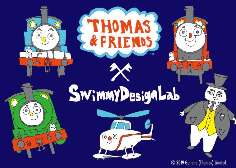 THOMAS&FRIENDS×CIAOPANIC TYPY by SwimmyDesignLabのキ