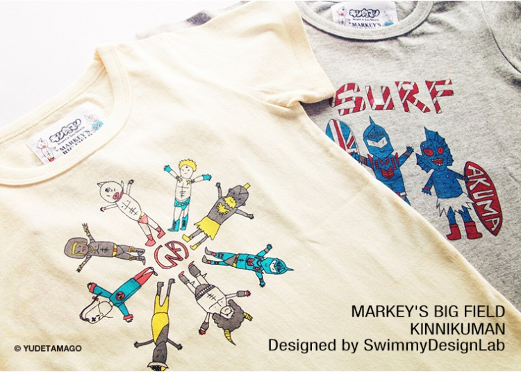 大人気の子供服ブランド「MARKEY'S」に、 SwimmyDesignLabが手がけた Japan
