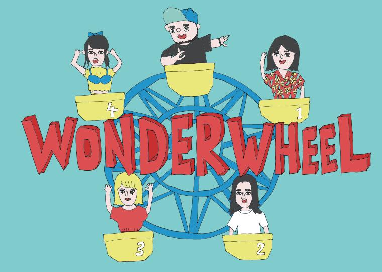 サイプレス上野さんの「WONDER WHEEL」へイラストの提供をしました!