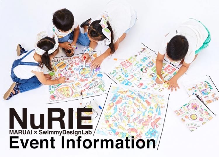 NuRIE cloth&markerの新発売に伴って  各地でNuRIE体験型イベントやスペシャル店