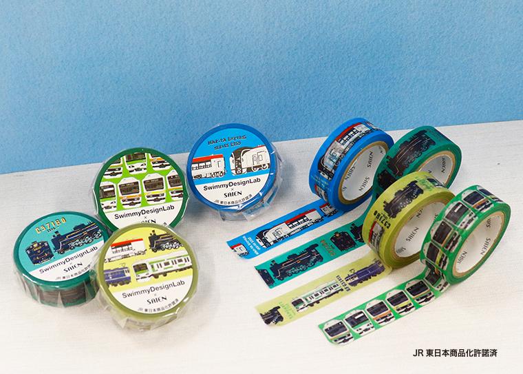 SAIENのマスキングテープとのコラボ商品を発売!