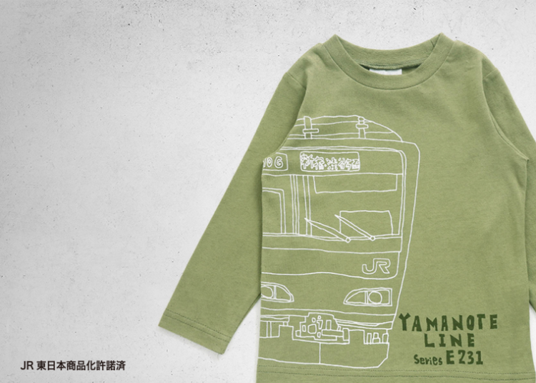 F.O.KIDSでTRAIN COLLECTION コラボ商品が新発売!